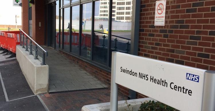Entrance of Swindon NHS Health Centre