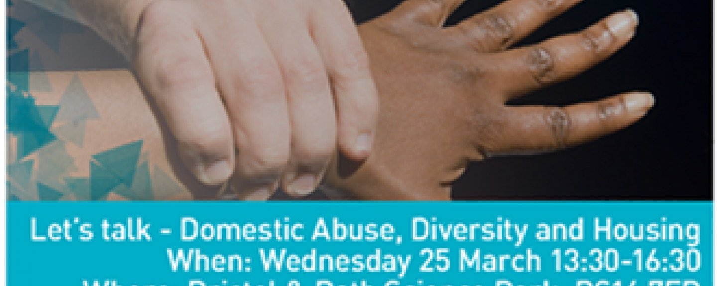 Domestic Abuse Diversity and Housing poster