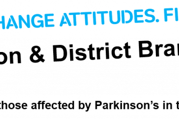 Parkinsons UK Swindon and District Branch Logo