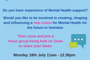 Flyer for Community Services Framework in Swindon