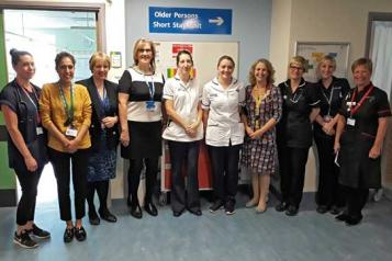 Picture of a medical team at Great Western Hospital