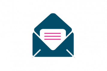 Infographic of a letter