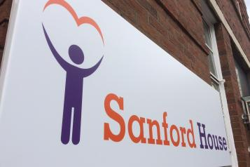 Photo of Sandord House sign in Swindon