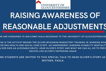Raising Awareness of Reasonable adjustments