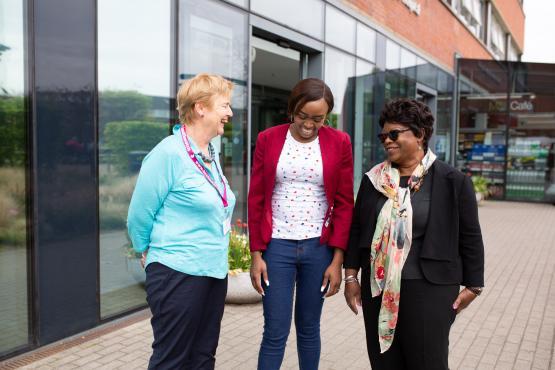 Image of Healthwatch Swindon volunteers