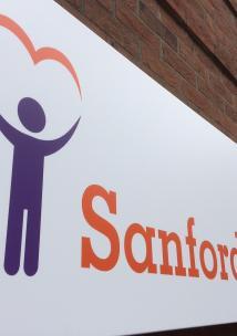 Photo of Sandord House sign in Swindon